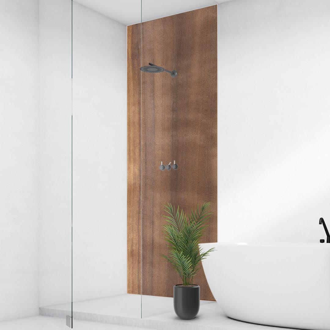 Duschrückwand Aspen-Holz