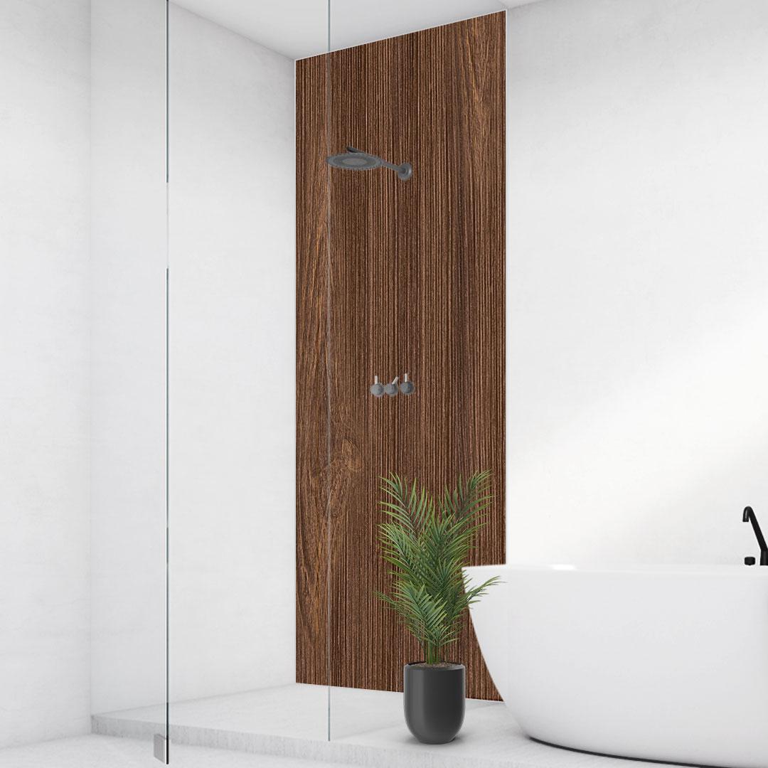 Duschrückwand nahtlose Holzstruktur