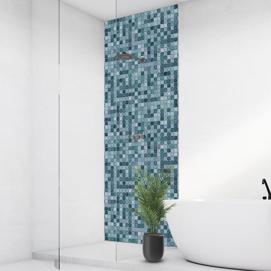 Duschrückwand Mosaic Aqua