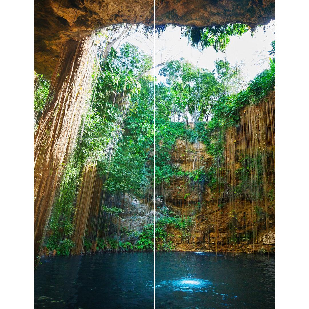 Paradise Cave Duschrückwand