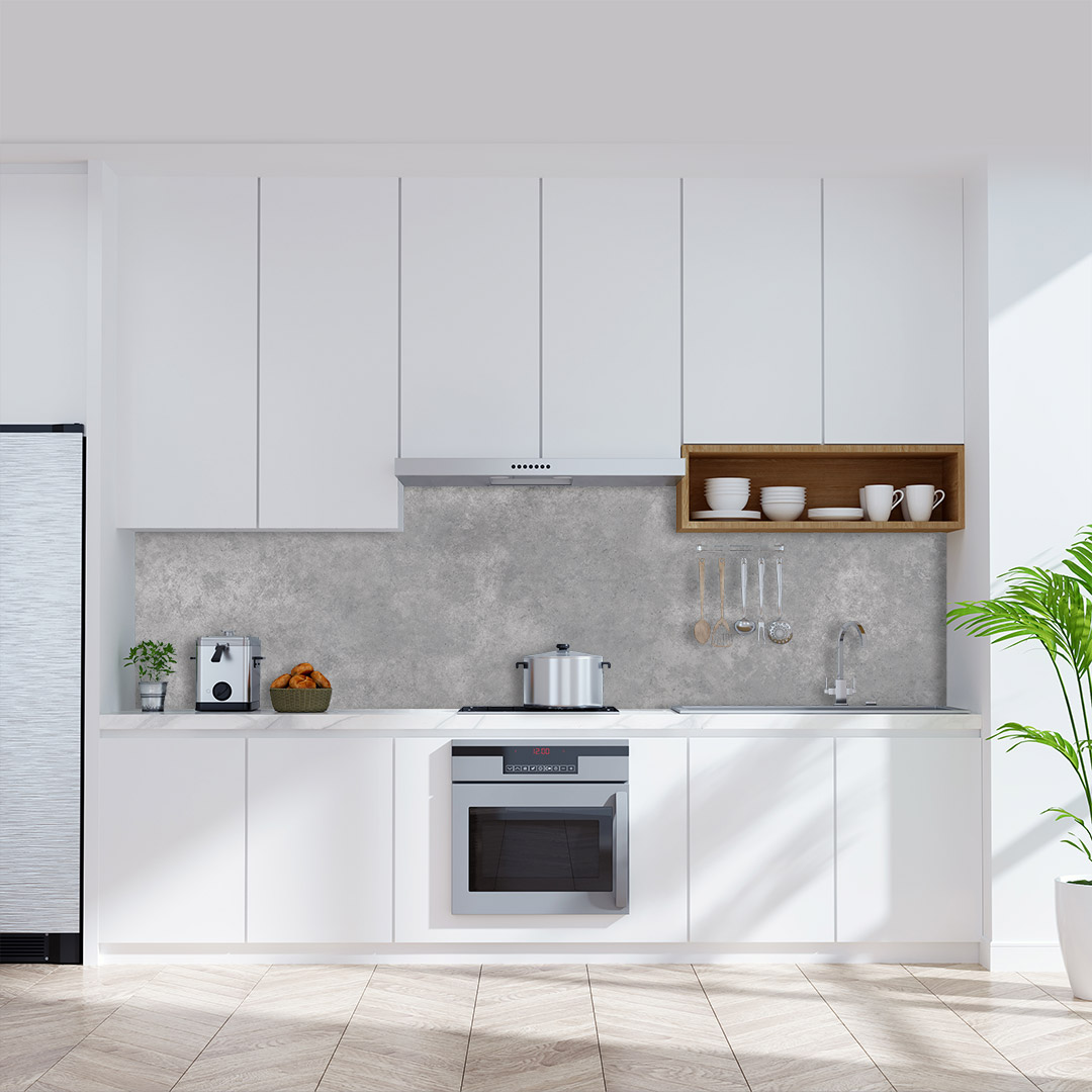 Küchenrückwand Beton
