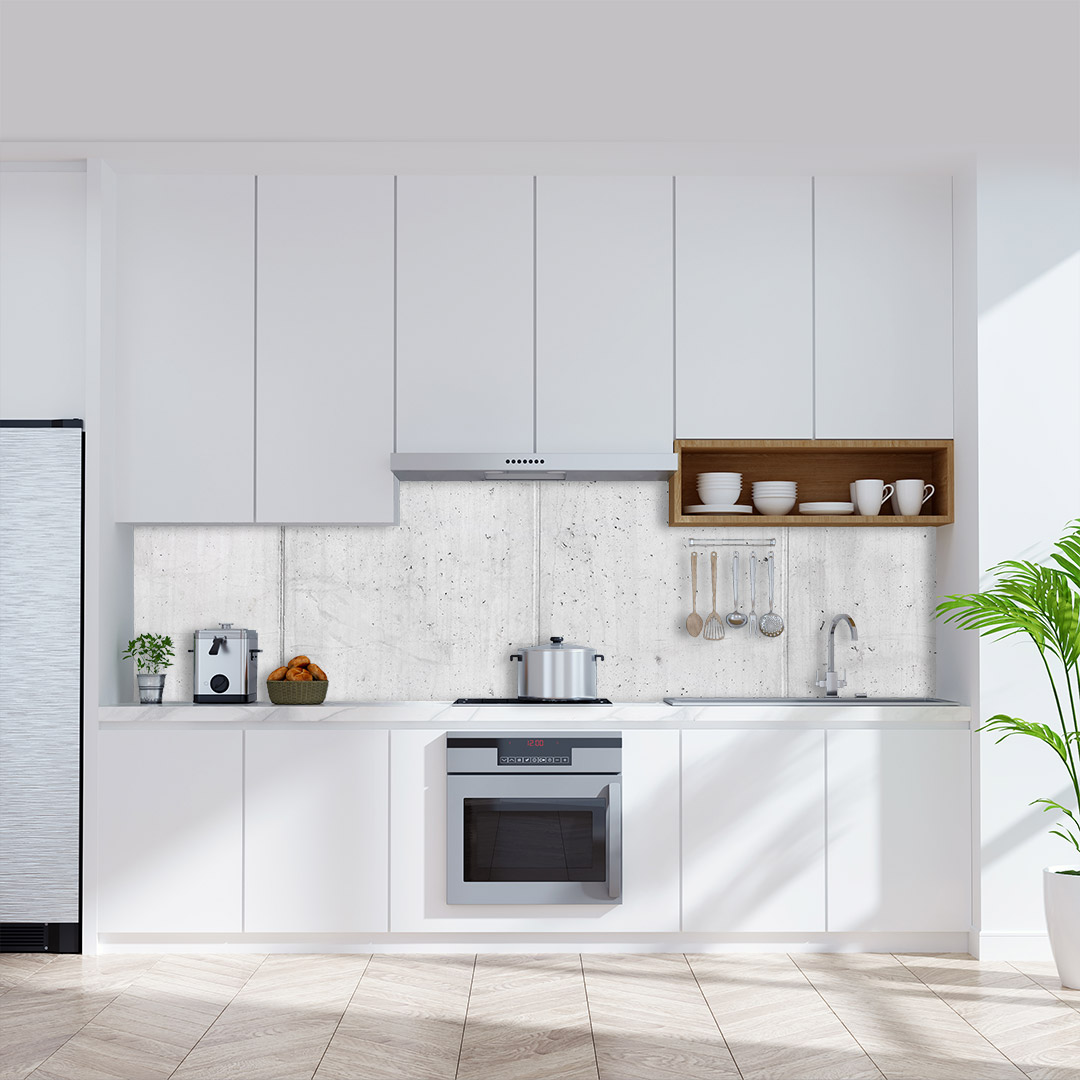 Küchenrückwand Beton Rustic