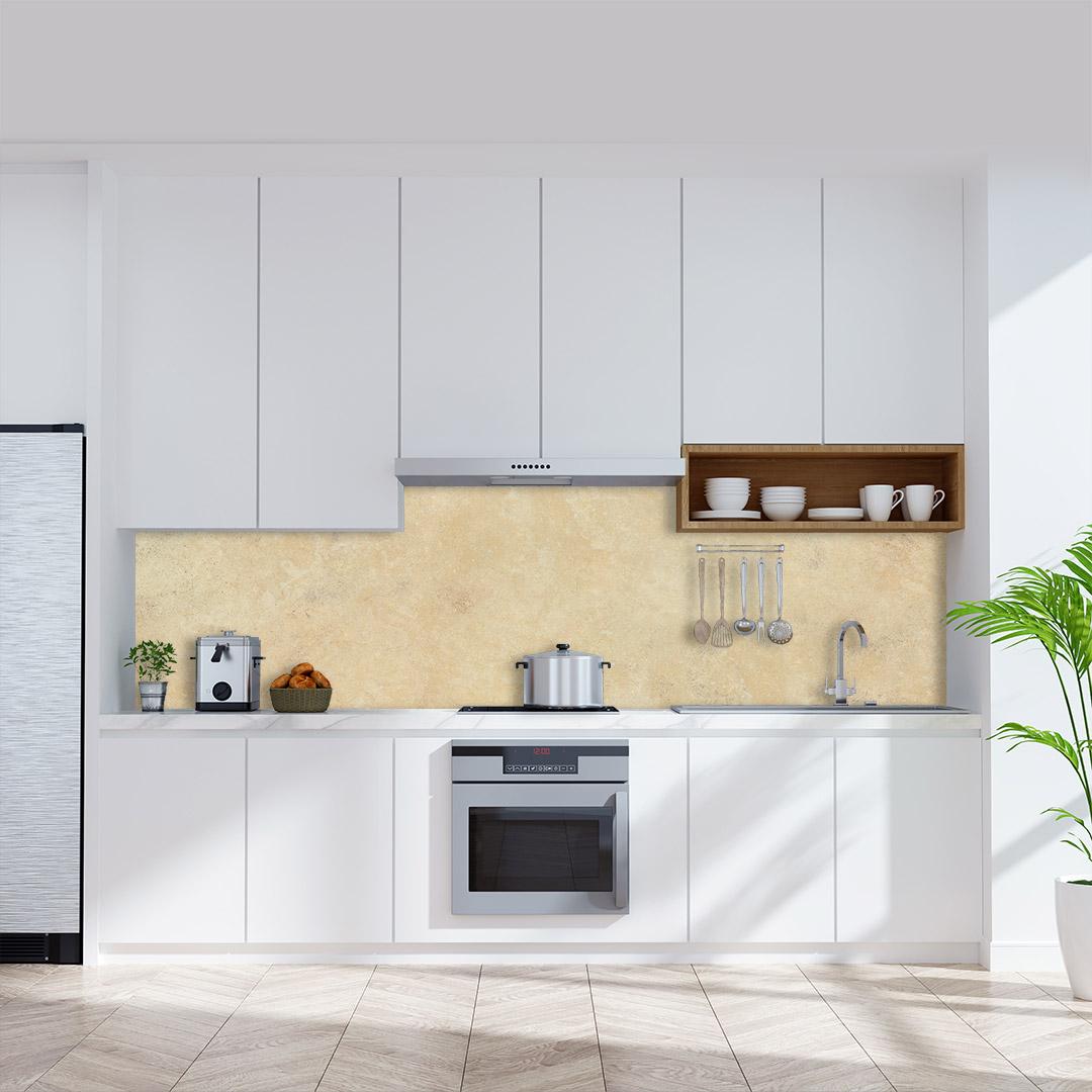 Küchenrückwand Kalksteinwand