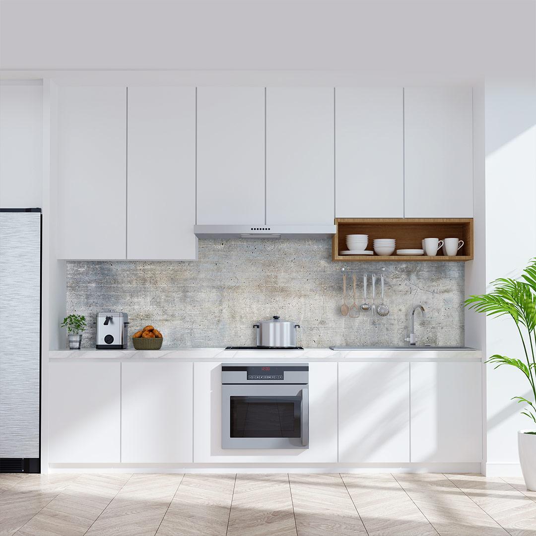 Küchenrückwand Beton Flair
