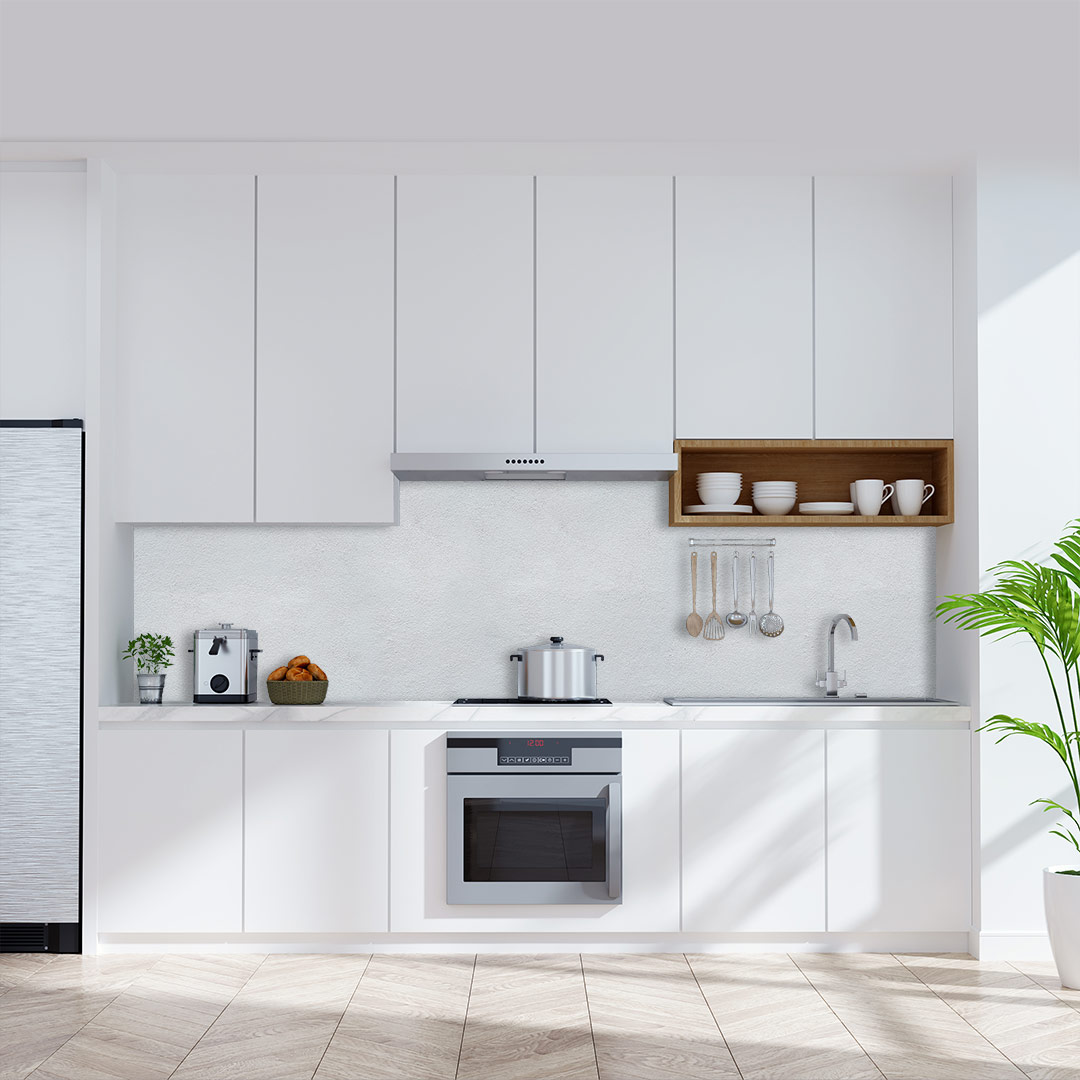 Küchenrückwand Beton Raw