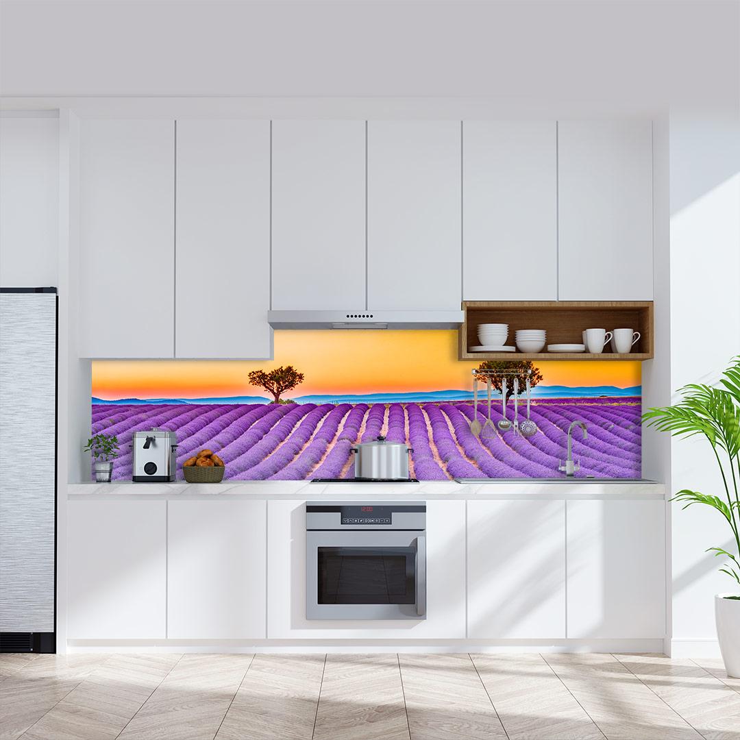 Küchenrückwand Lavendel Frankreich