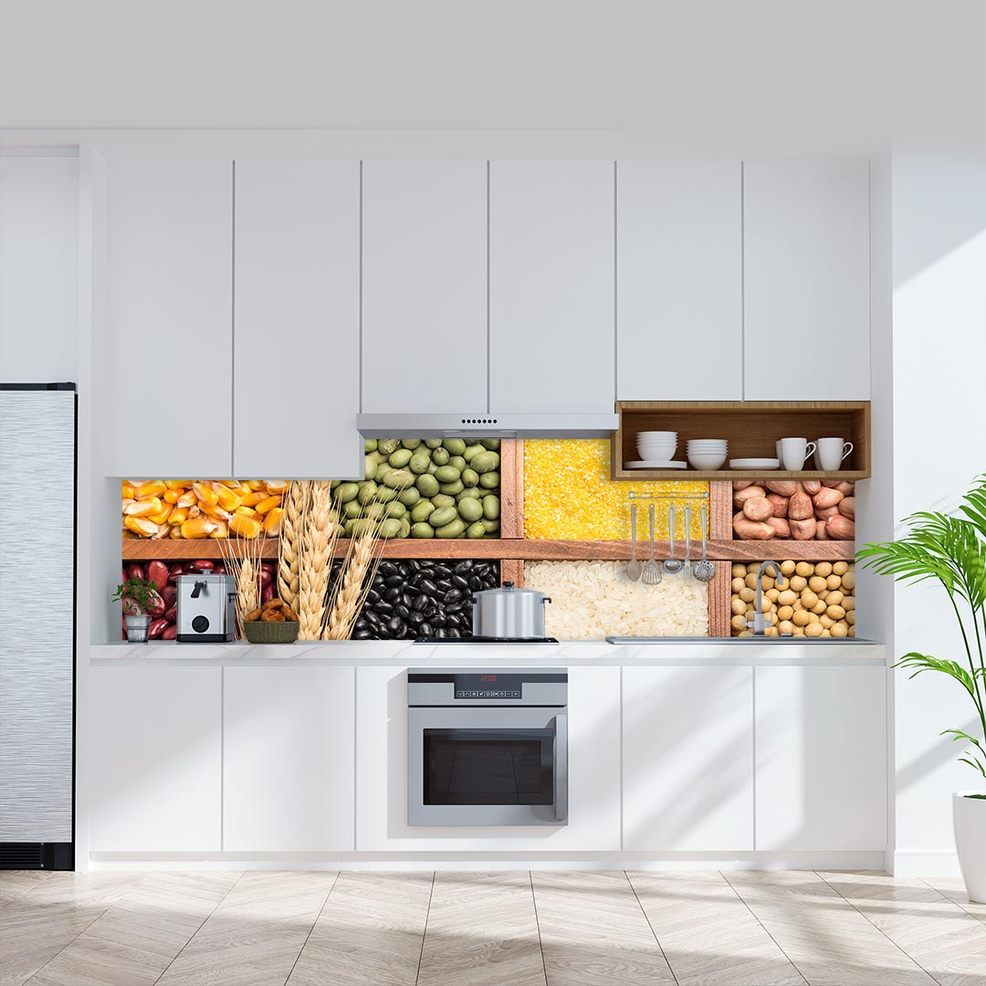 Küchenrückwand Lebensmittel