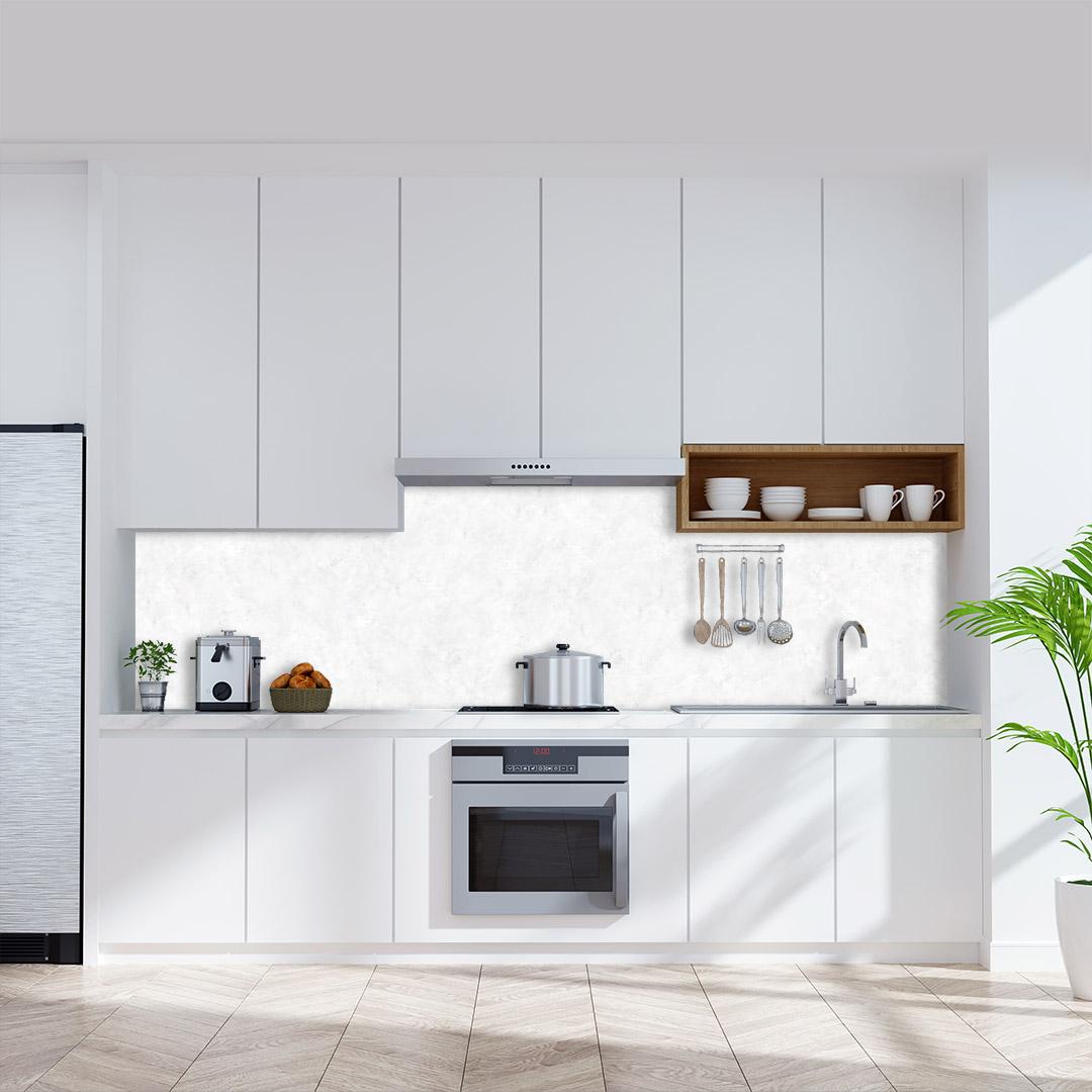 Küchenrückwand Marmor weiß