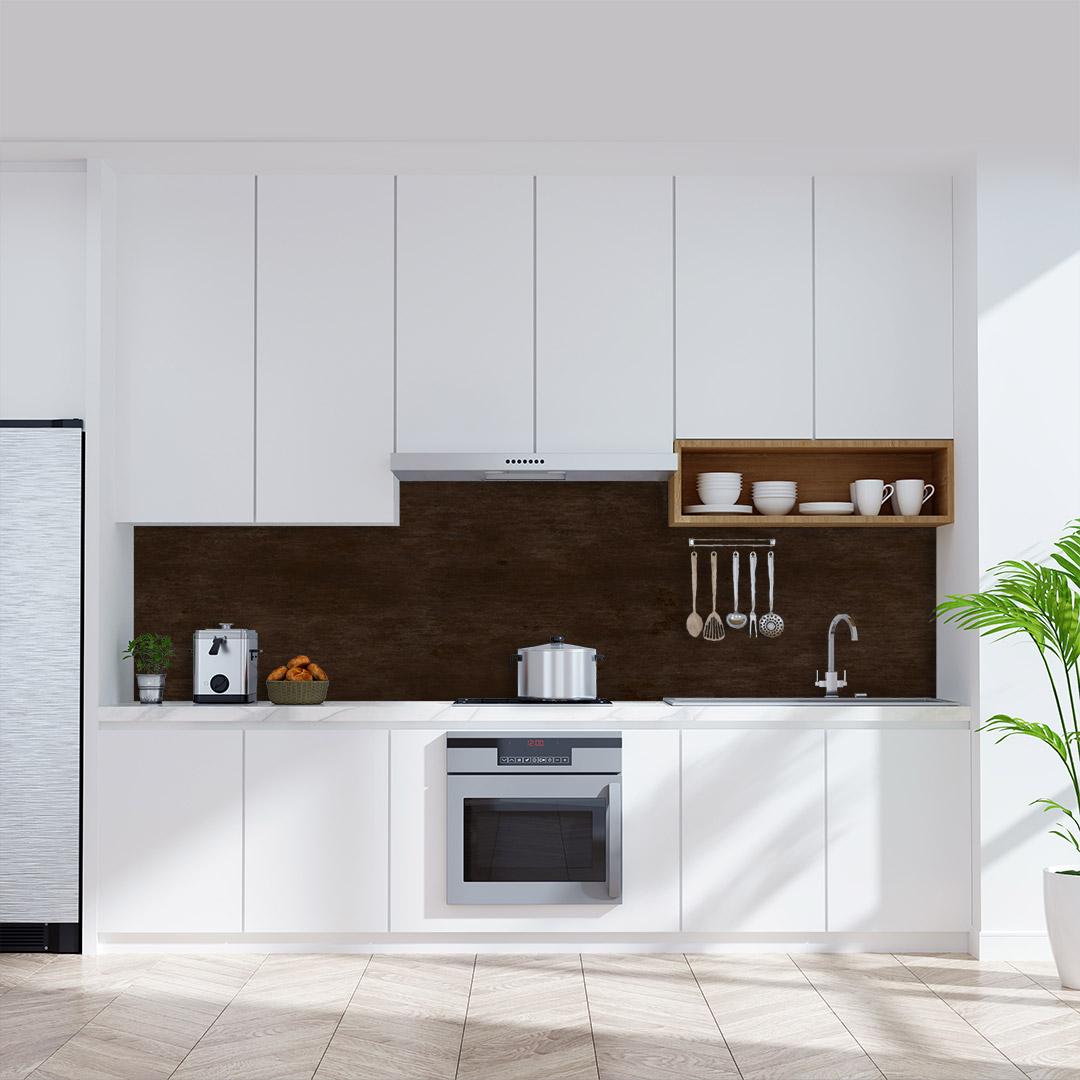 Küchenrückwand Rostoptik