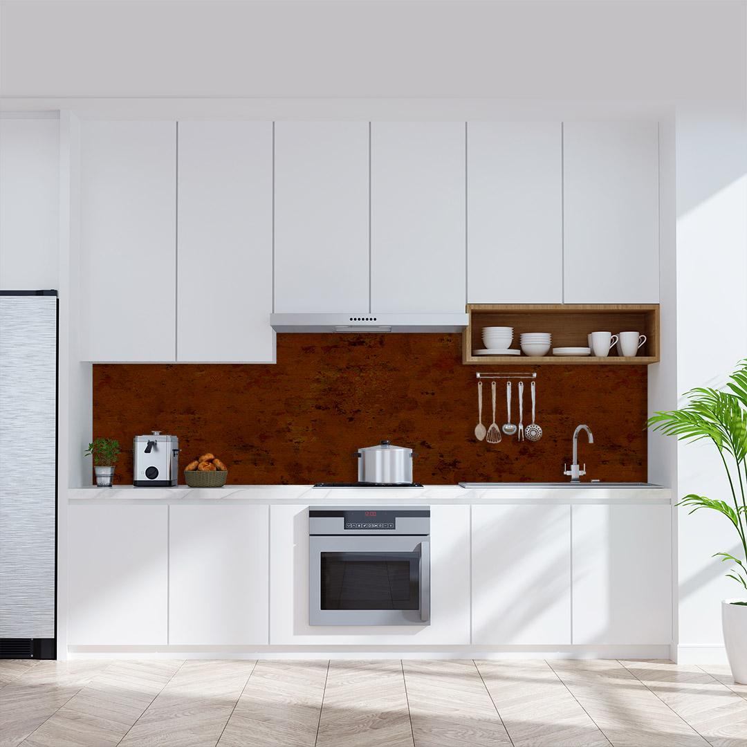 Küchenrückwand Rost Vintage