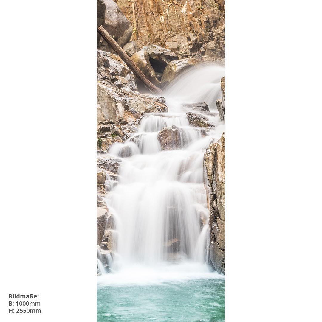 Wasserfall Schwarzwald Direktdruck