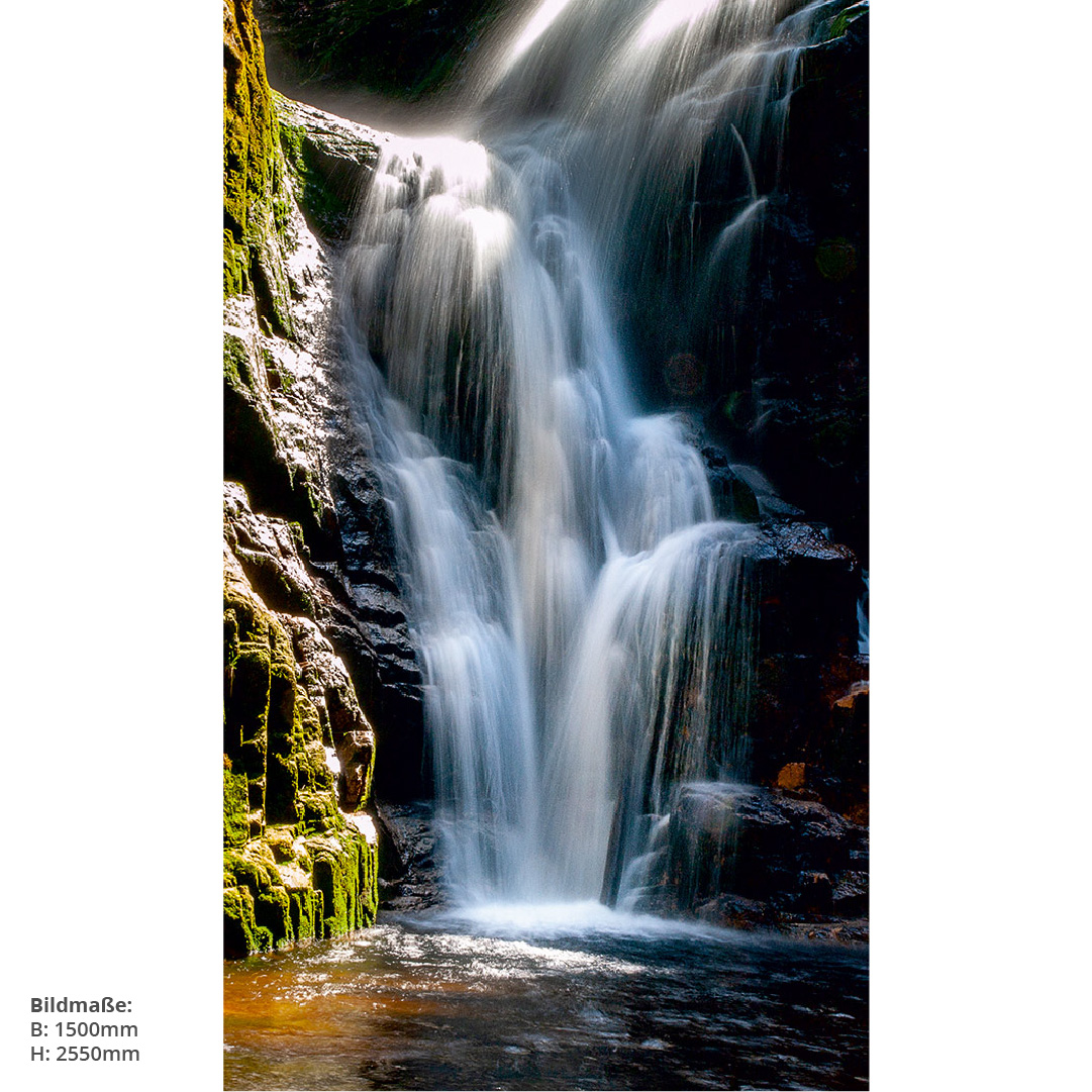 Wasserfall Berge Naturmotiv Bad